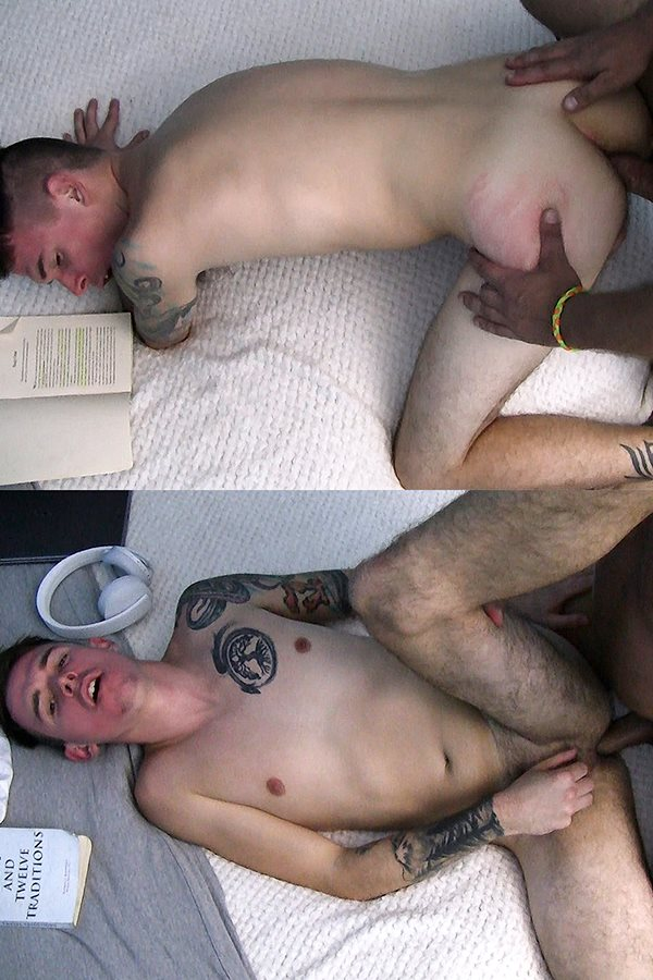 Boyshalfwayhouse - the house manager barebacks broke straight boy Chris Colt's tight ass in different positions before he cums in Chris' mouth in His Life Has Become Unmanageable 01