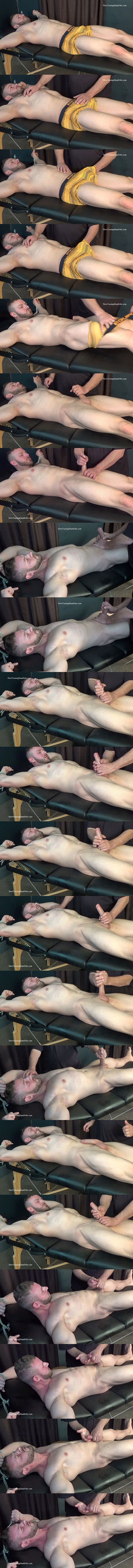 Slowteasinghandjobs - rugged handsome straight muscle stud Anthony Flex gets slowly serviced, stroked, edged and wanked off in Slow Hand Job for Anthony Flex 02