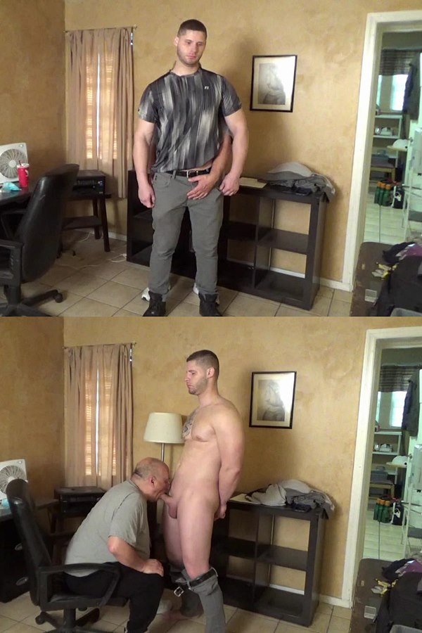 Slowteasinghandjobs - Rich slowly teases, fondles, sucks and strokes straight hunk Brad's cock before he milks the jizz out of Brad's hard pole in Office Hand Job 01