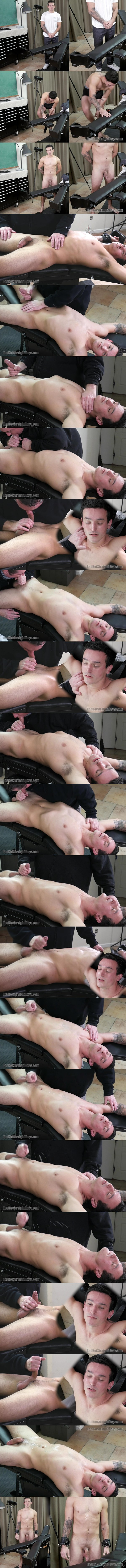 Redhotstraightboys - master Tom sucks and strokes Colby Sawyer's big cock before he milks a juicy load out of Colby's hard cock in Colby's First Gay Blowjob 02